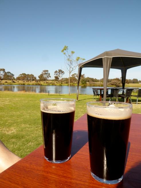 Black IPA at Bootleg Brewery