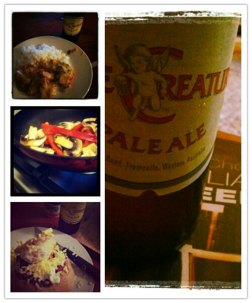 Home Food + Pale Ale