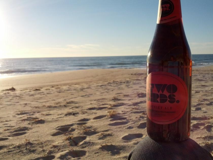Enjoying my 30th birthday beachside
