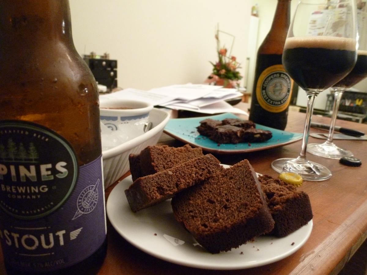 Stout -v- Stout: Round 3 – ChocolateCake