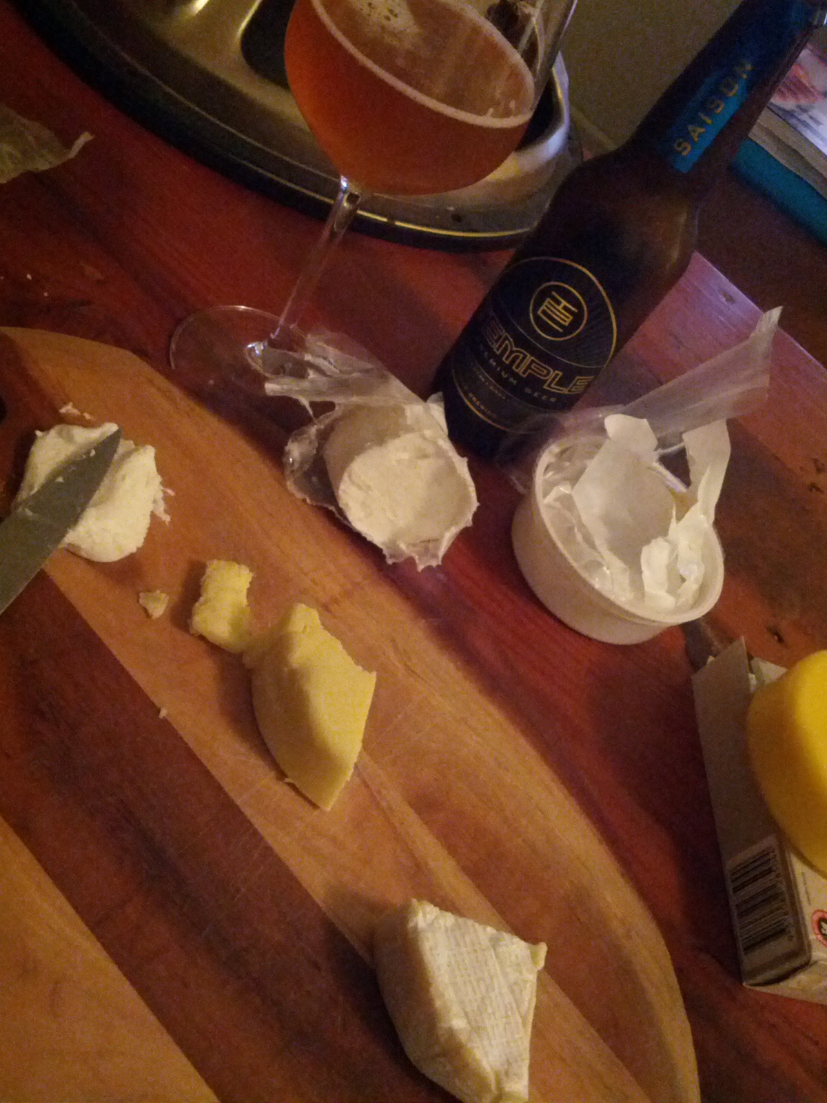 Saison + Cheese