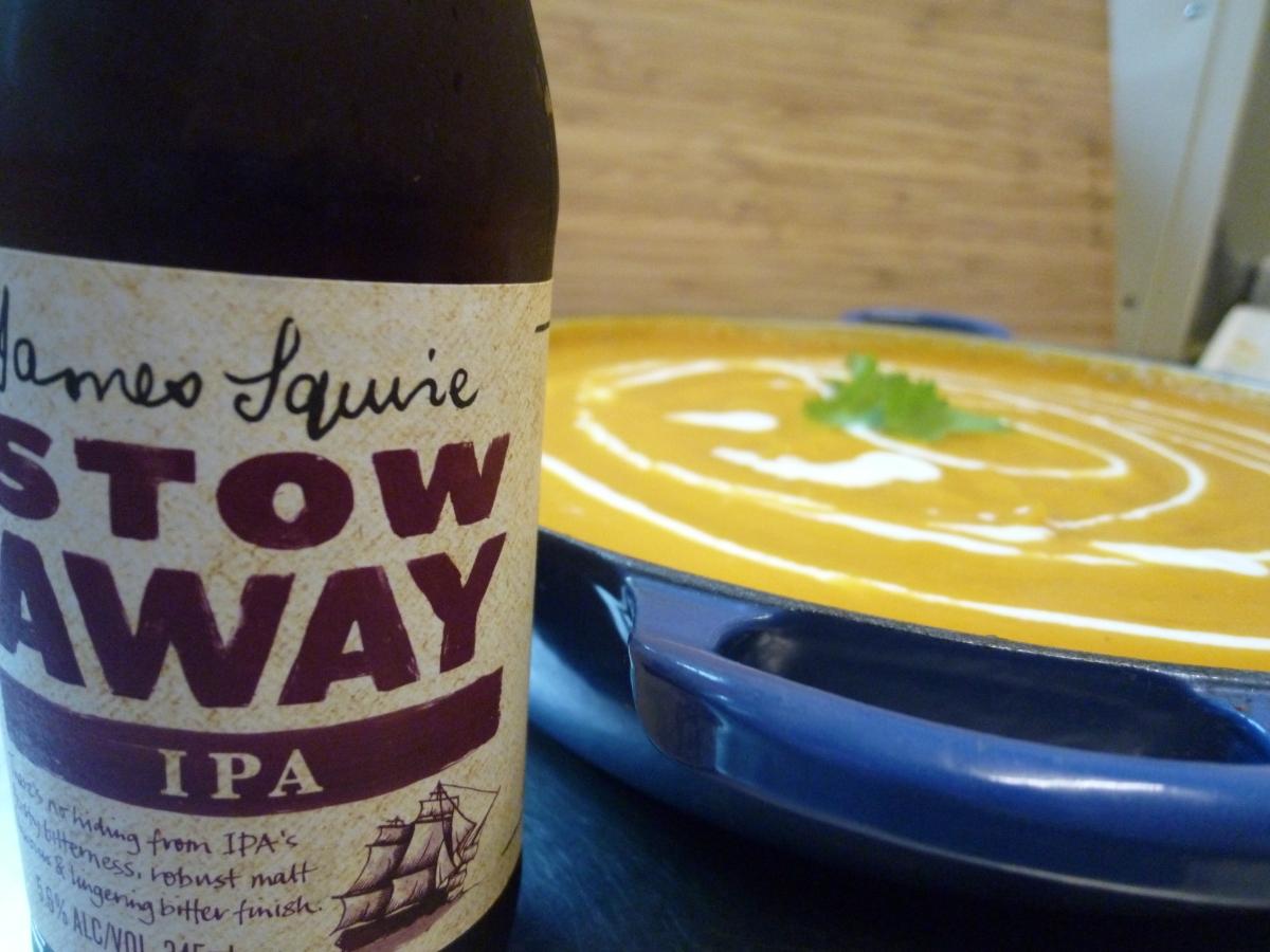 Pumpkin Soup +IPA