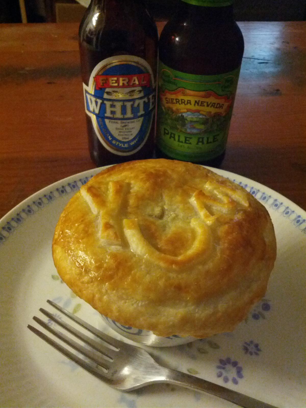 Pie + Beer