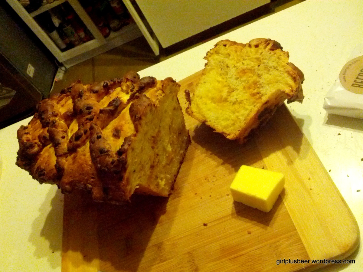 Beer + Mustard Bread