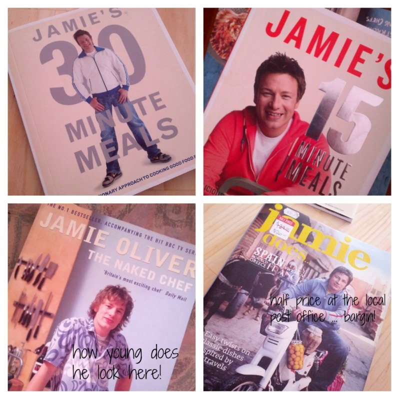 The number of Jamie Oliver books I have has jumped from 1 to 4 in the last eight weeks!