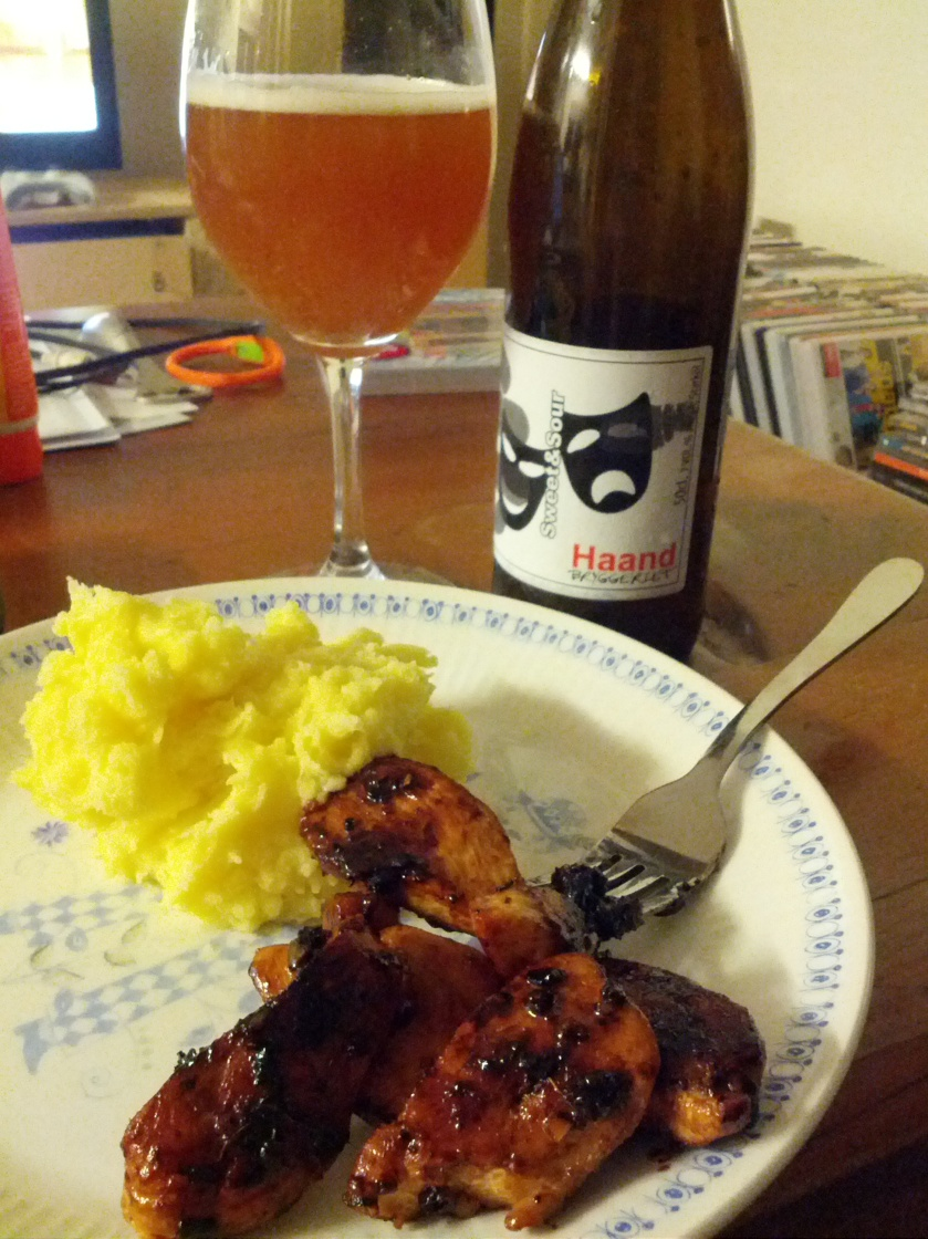 Sweet and Sour Beer with Chicken