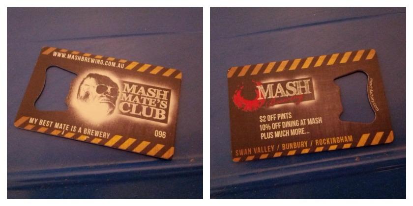 Mash Mate Card