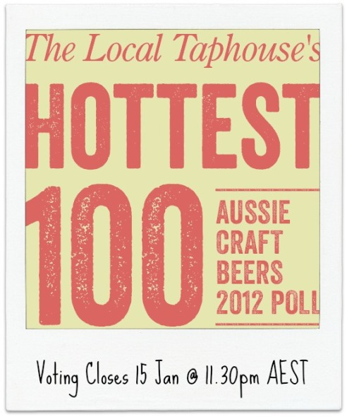Taphouse Hottest 100