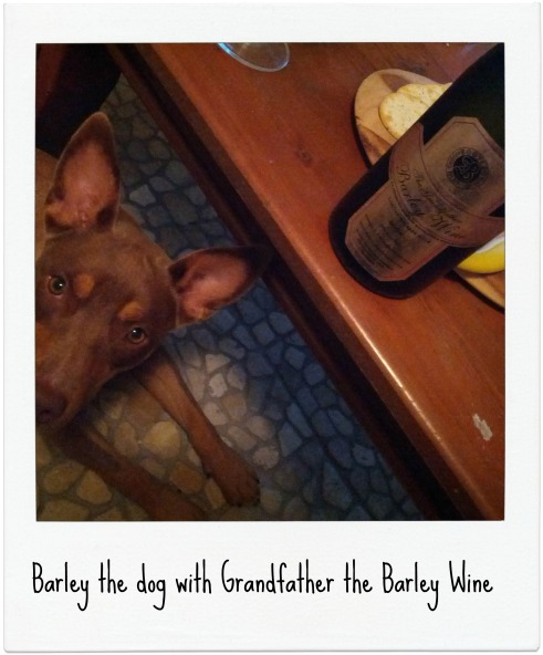 Barley with Barley Wine
