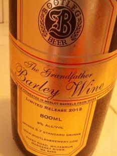 Bootleg Barley Wine