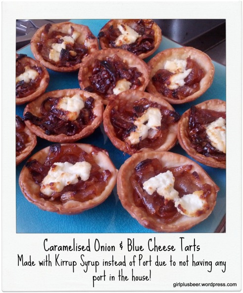 Caramelised Onion and Goats Cheese Tarts 3