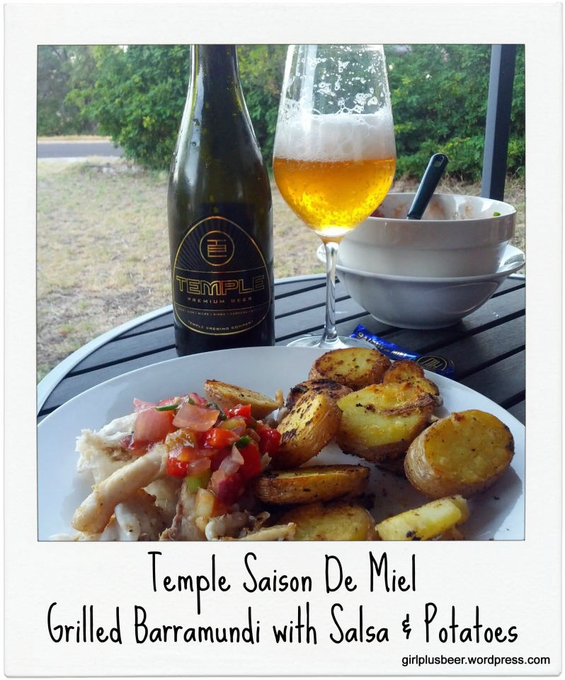 Temple Saison De Miel with Barramundi