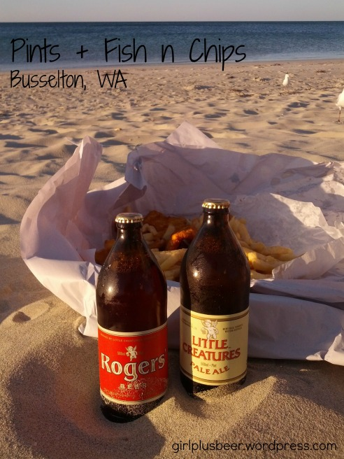 Fish and Chips on Busselton Beach