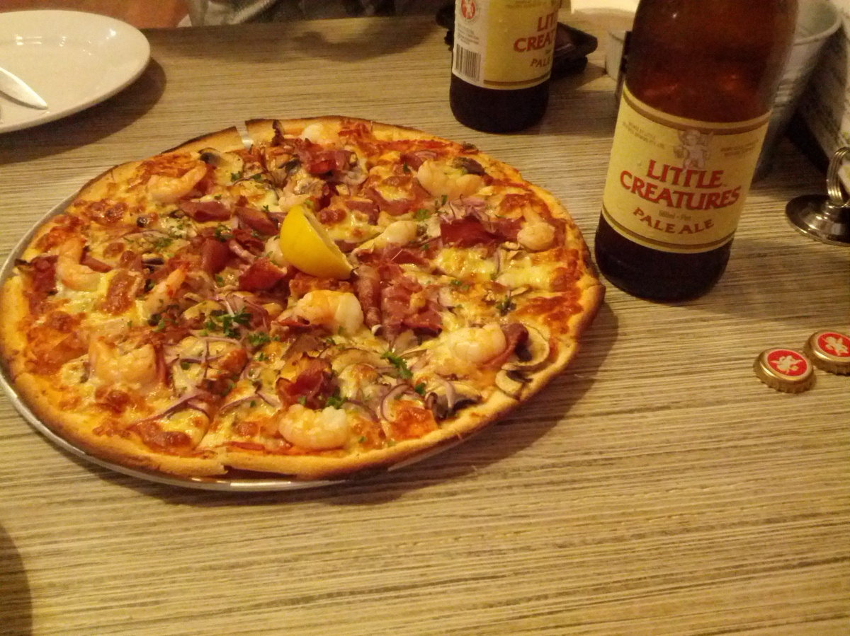 Pizza + Little Creatures