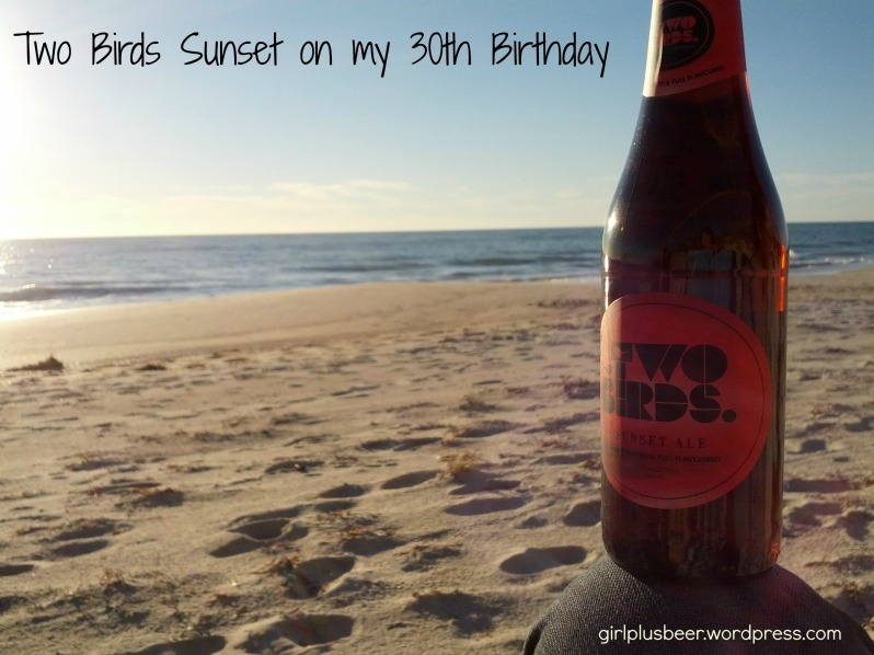 Two Birds Sunset Ale
