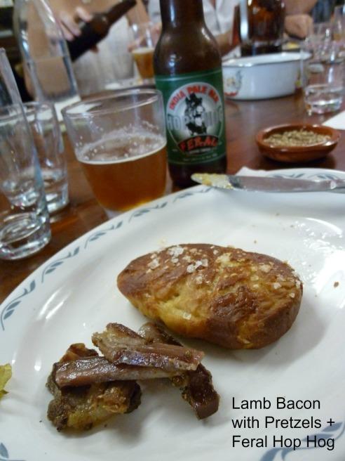 Lamb Bacon + Feral Hop Hog