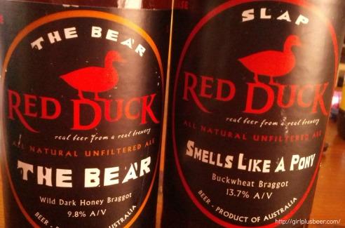 Red Duck Beers
