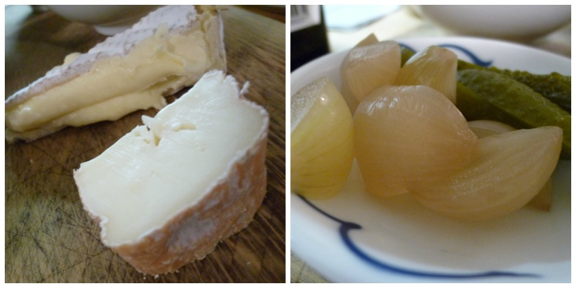 Taleggio and Picked Onion