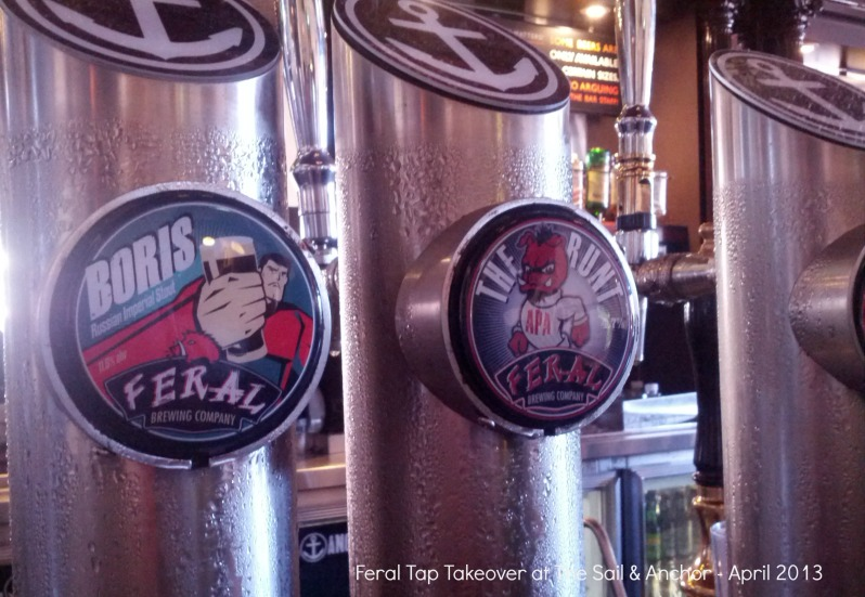 Feral Tap Takeover at The Sail