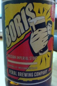Feral Russian Imperial Stout Boris