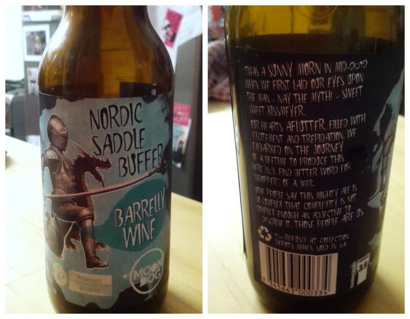 Moon Dog Barrelly Wine