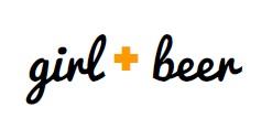 girl + beer