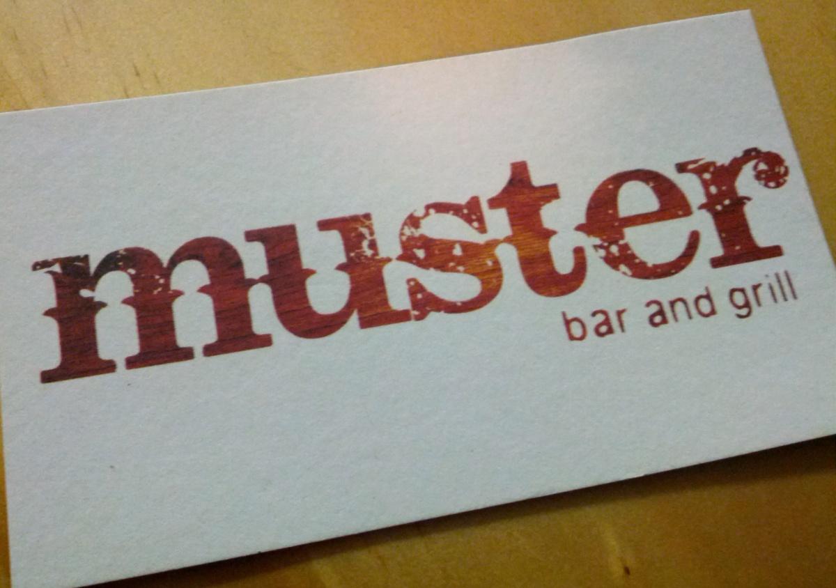 Great Beer Menus –Muster