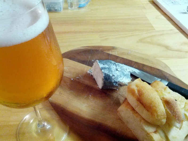 Colonial Kolsch and Ashed Chevre