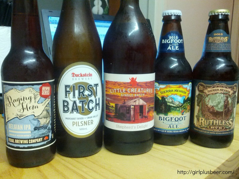 Local beer shopping at Cape Cellars in Busselton