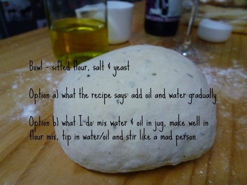 Dough Instructions
