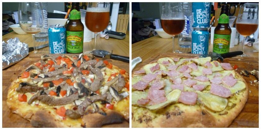 Last Friday night, as they all should be with good food and great beer