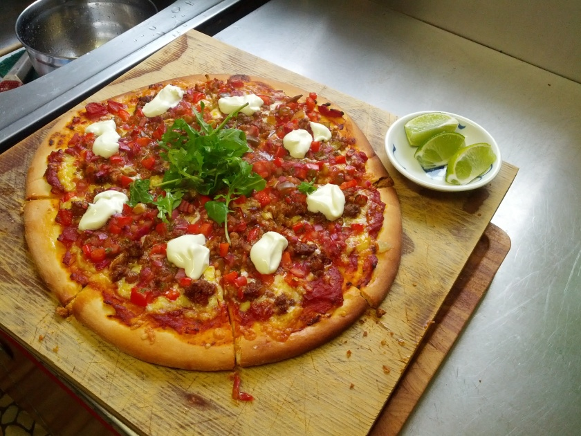 Mexican Pizza!