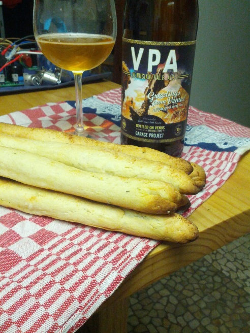 Beer Bread Sticks