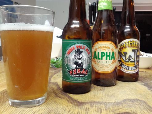 a trio of ales