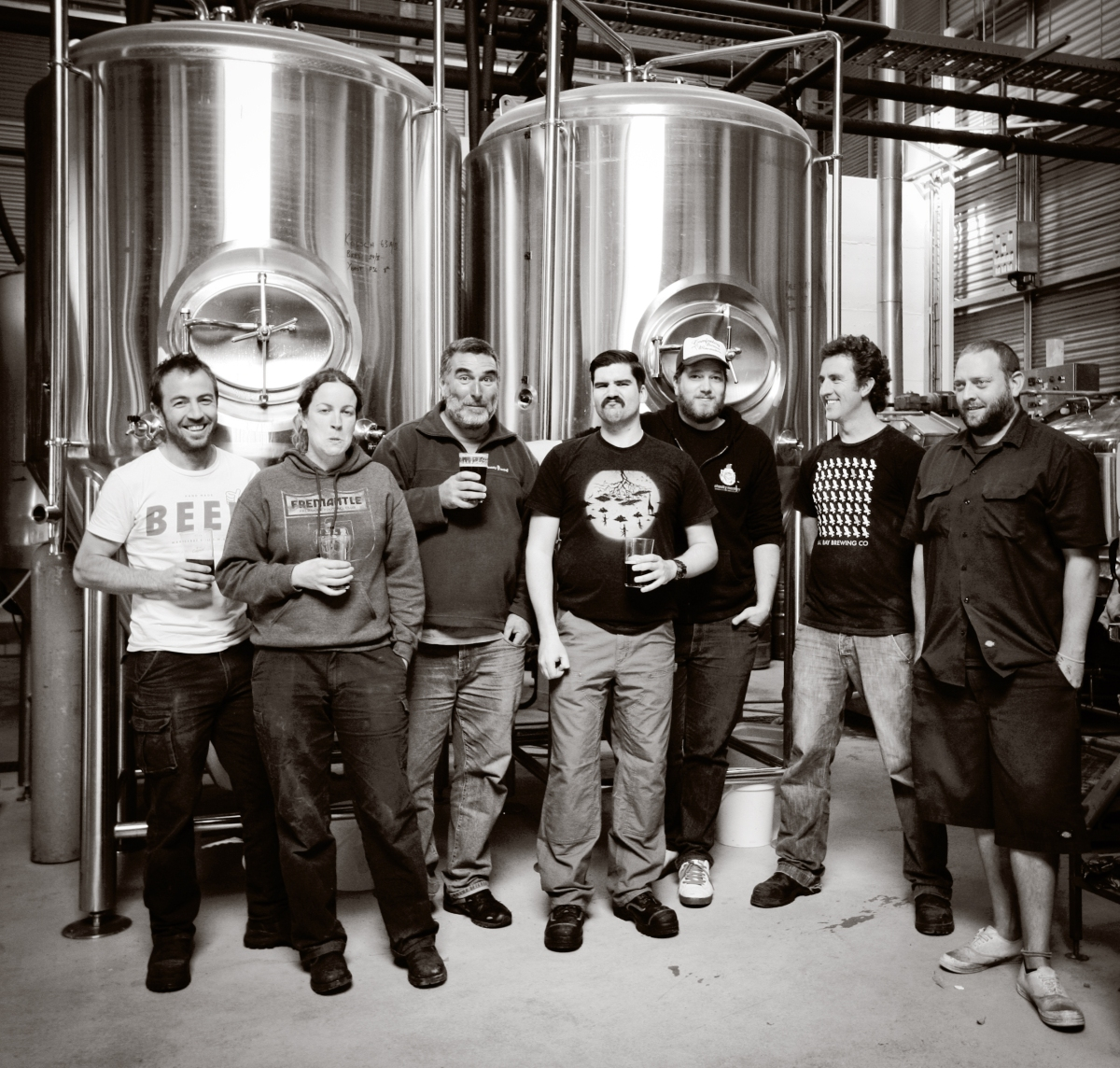 A bunch of brewers walk into a bar …