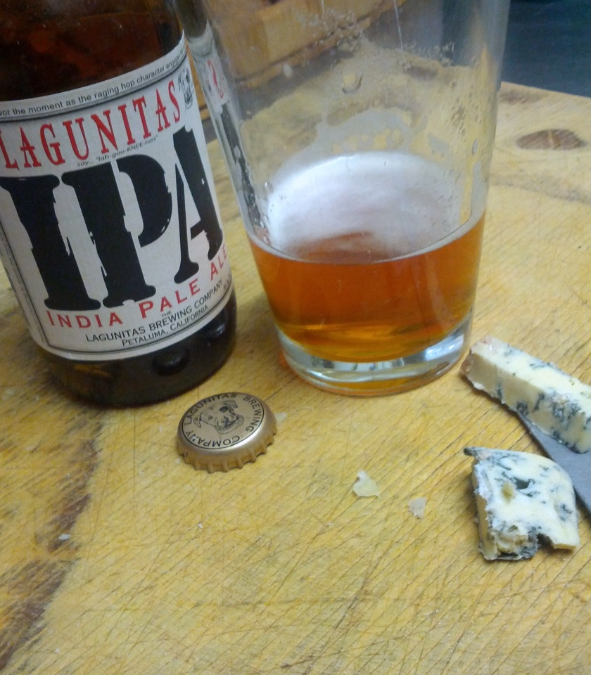 Lagunitas IPA and King Island Endeavour Blue