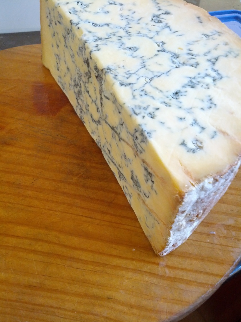 That's one big hunk of stinky Stilton!