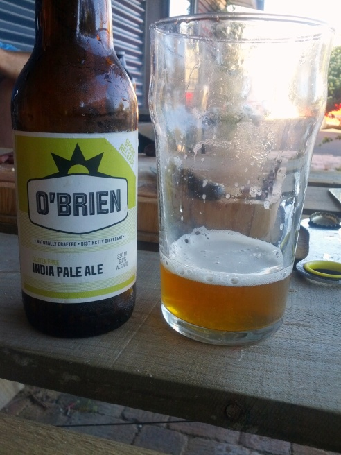 O'Brien IPA  ... vibrant and piney