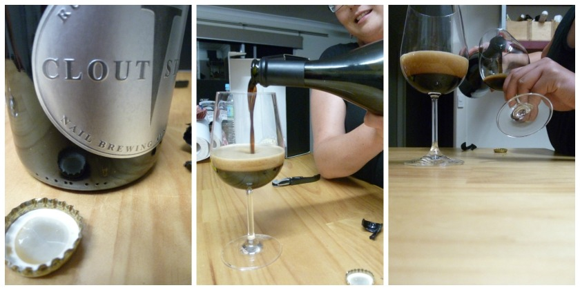 2012 Clout Stout ... from opening the box to pouring it into a glass