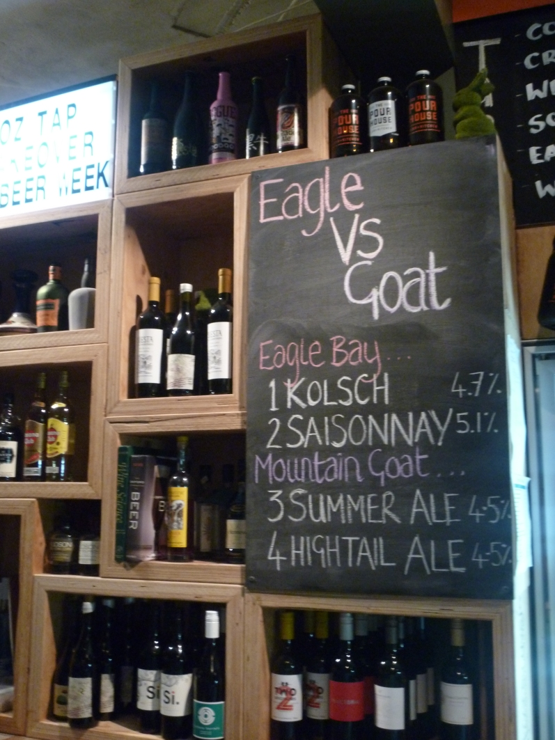 Drinkers were asked to place their vote for their favourite beer of the night. The winner was Mountain Goat Summer Ale!