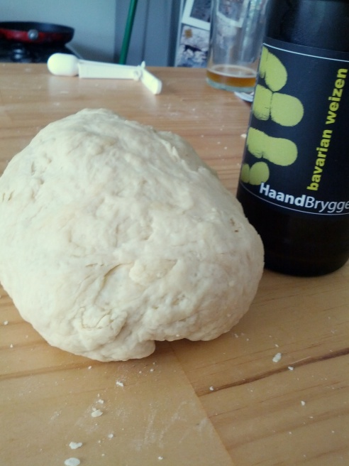The dough might look a little rough but that's half the fun!