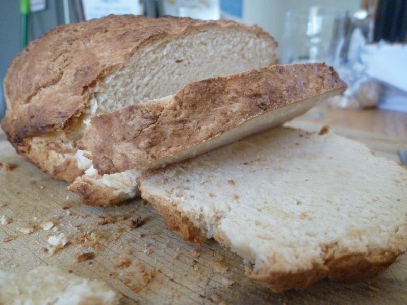 Tasty fresh beer bread