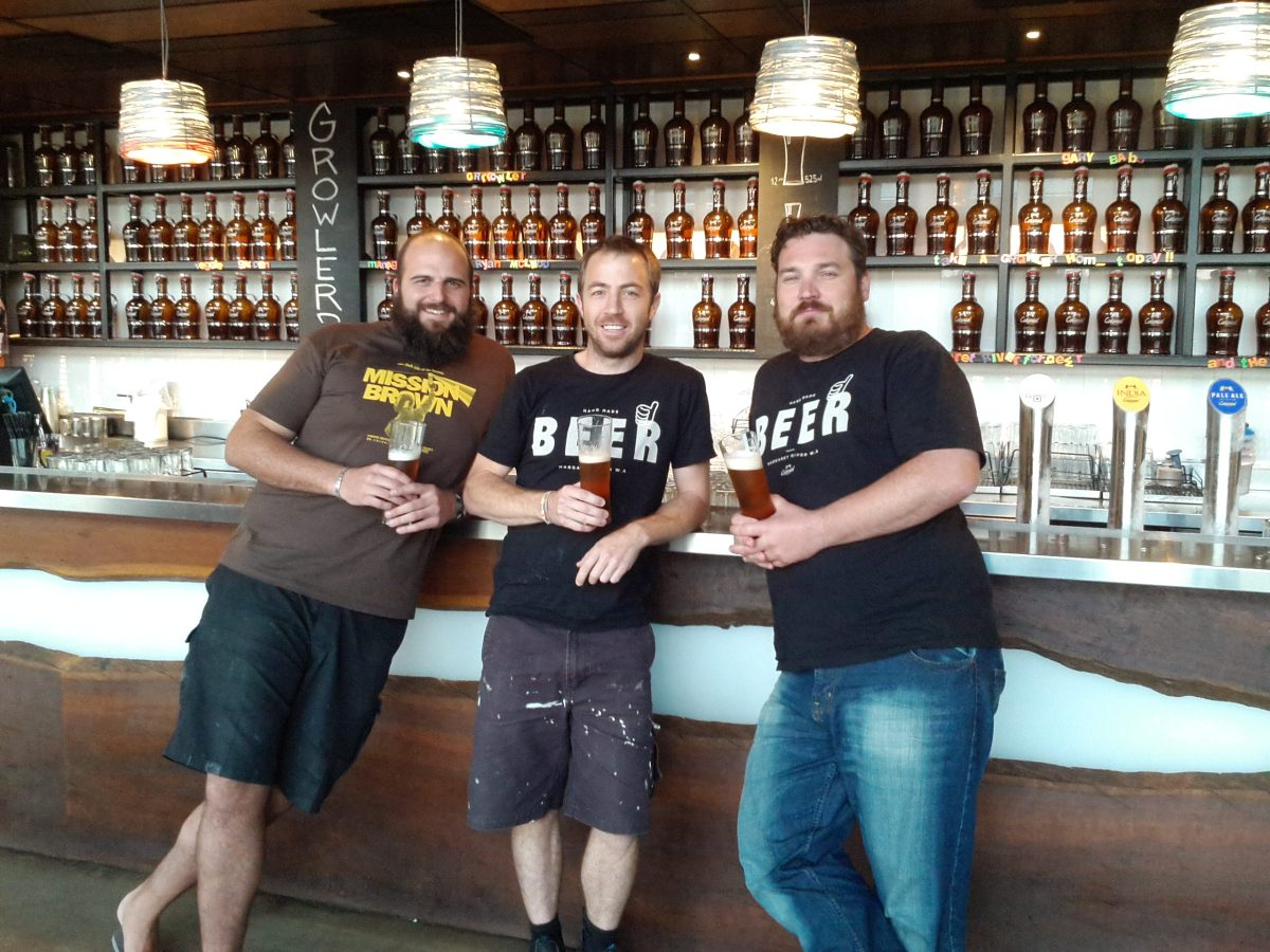 5 Minutes with the guys at Colonial Brewing