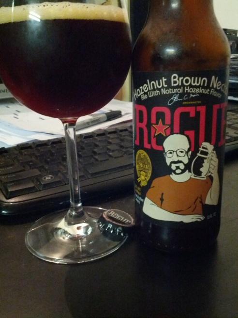 Rogue Hazelnut Brown Nectar 6.2% abv