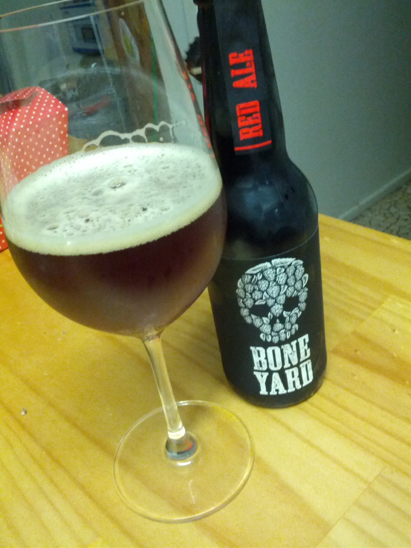 Night 2: Boneyard Red Ale 2.9% abv