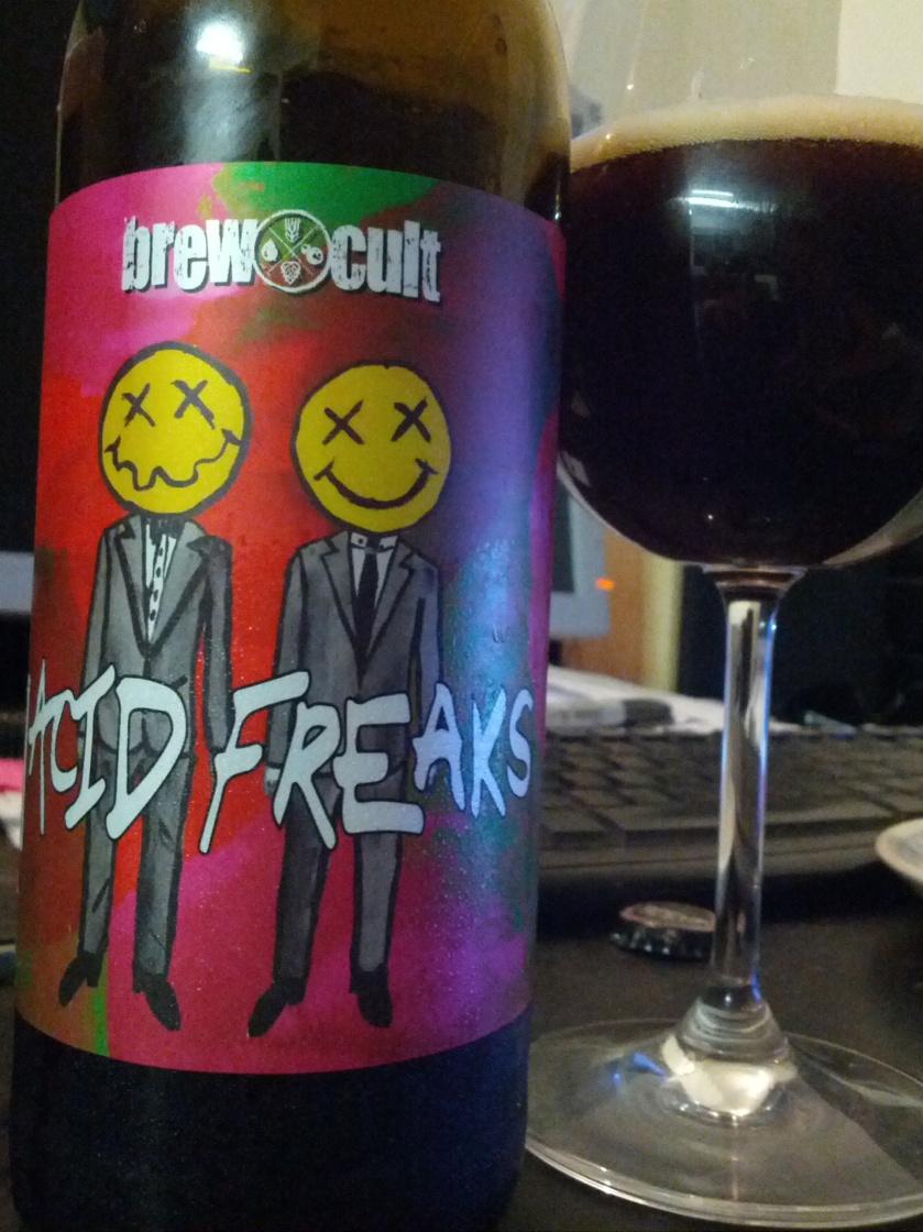 Night 3: Brew Cult Acid Freaks 7.5% abv
