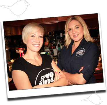 Jayne & Danielle Two Birds Brewing Image from Two Birds Brewing website