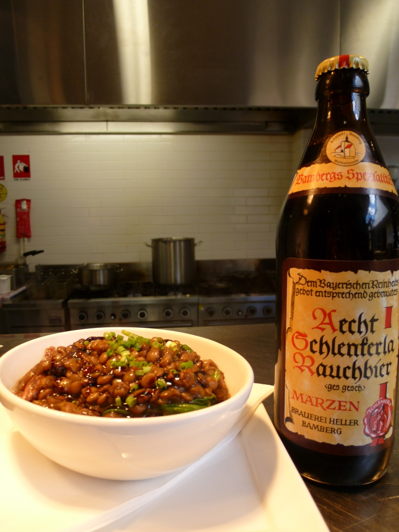 Puy Lentils and Schlenkerla Marzen at Five Bar January 2011