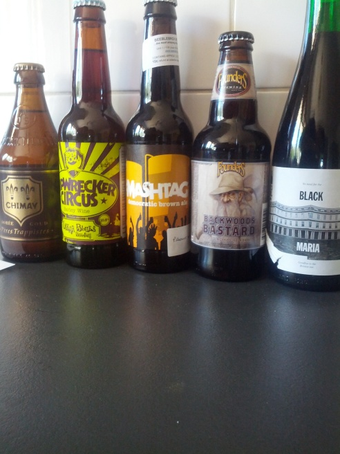 Beery presents from my man