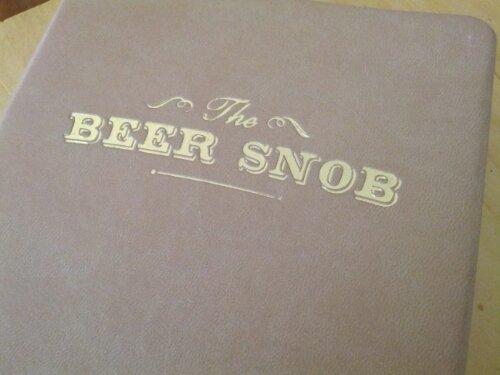The Beer Snob